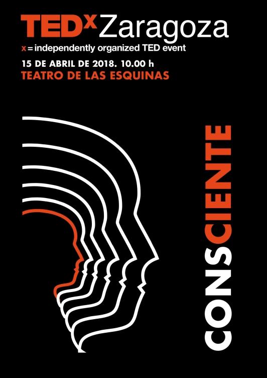 TEDxZaragoza2018Conscienteposter